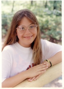 Me, in what I think is around 4th grade. Mom isn't great at labeling pictures.